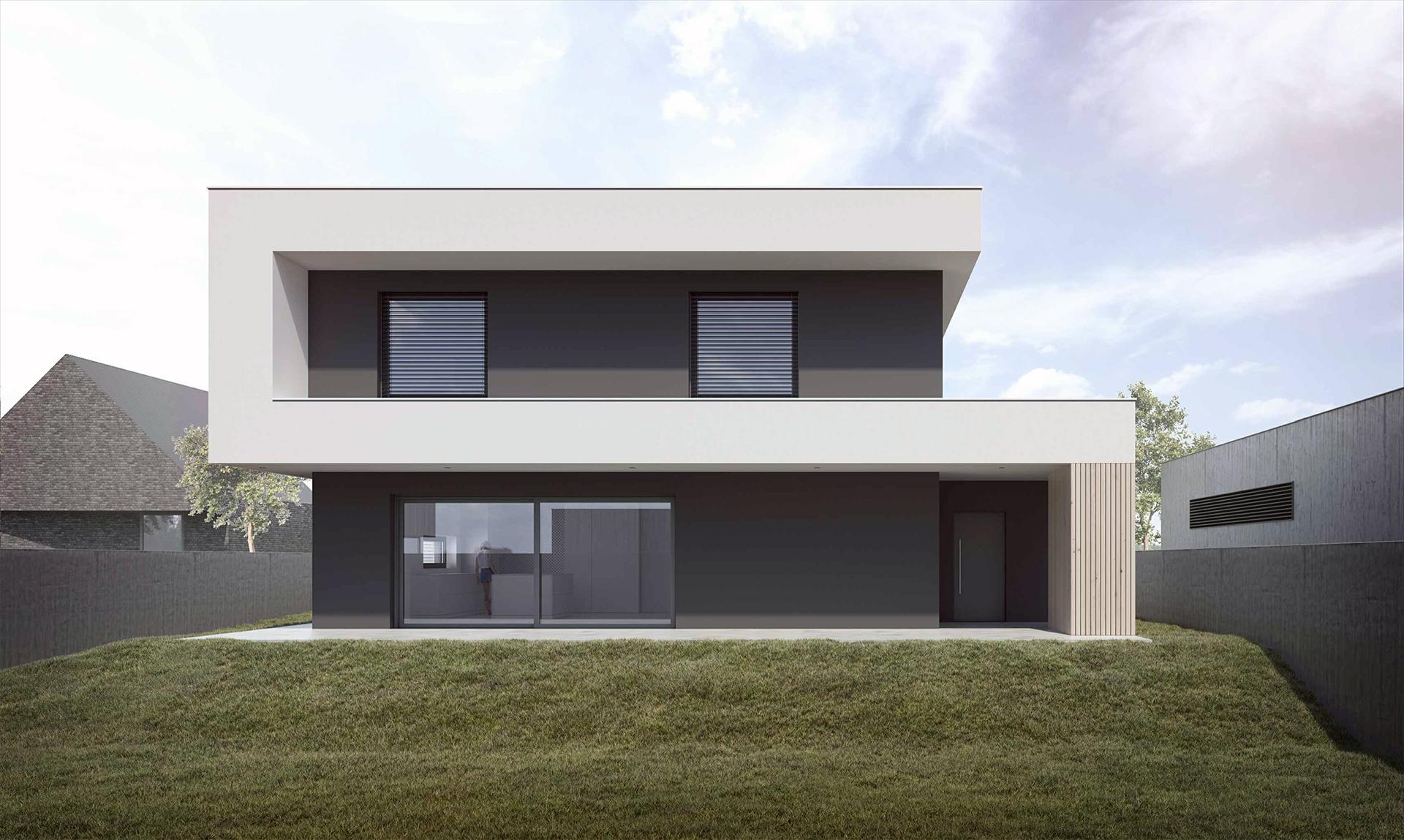 House in Chorzów - Joanna Kubieniec i Katarzyna Długosz - Biuro architektoniczne w Katowicach
