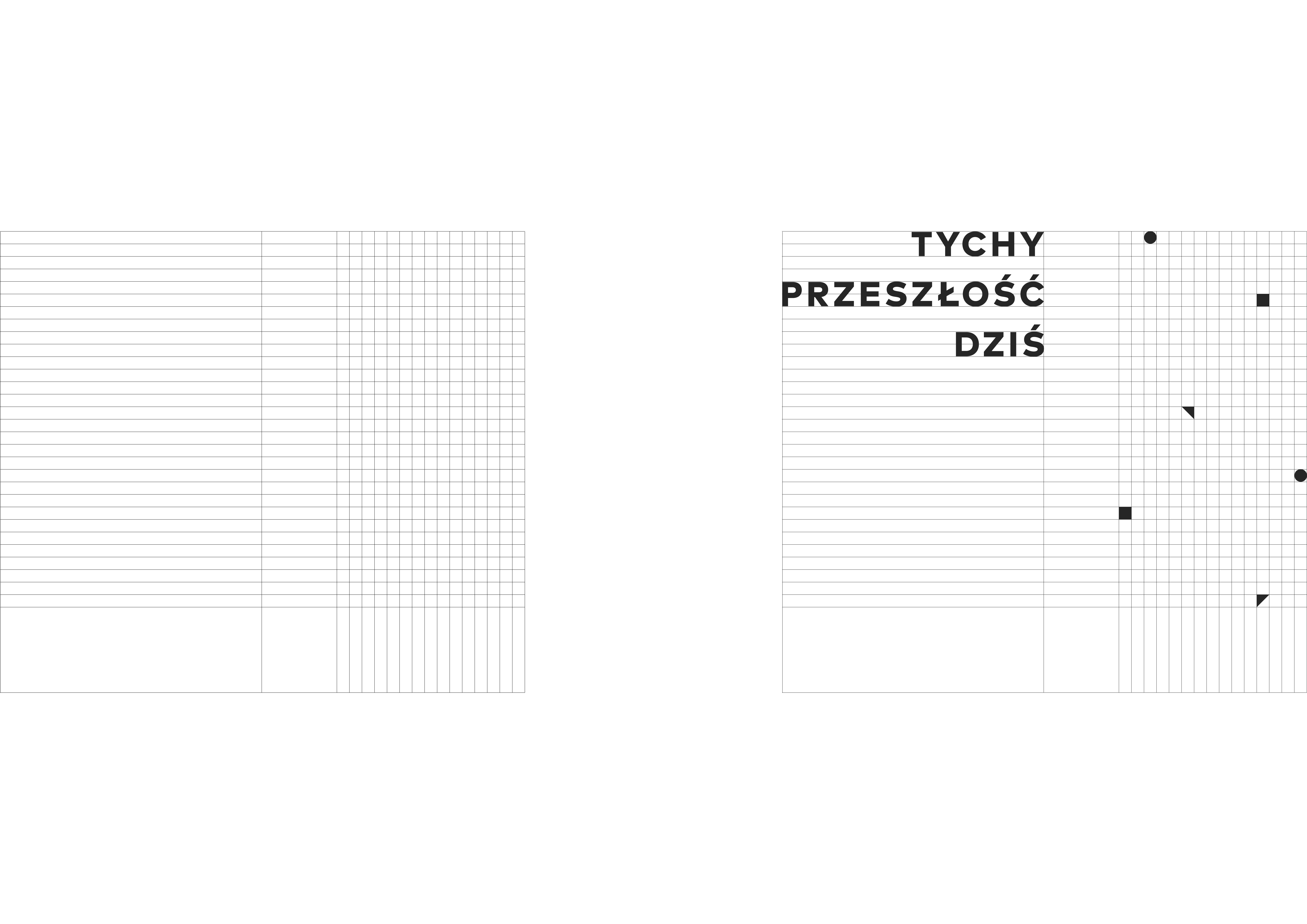 Tychy – the past – today - Joanna Kubieniec i Katarzyna Długosz - Biuro architektoniczne w Katowicach
