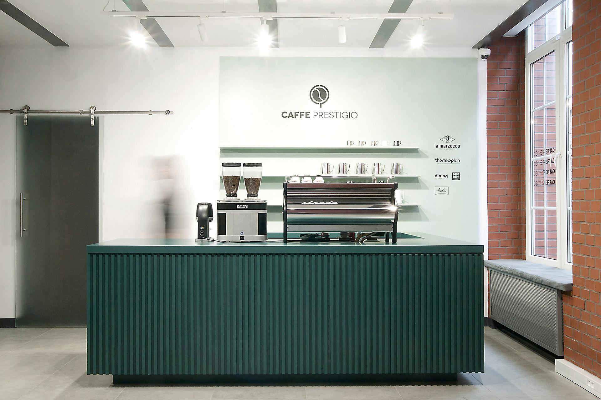 Caffe Prestigio - Joanna Kubieniec i Katarzyna Długosz - Biuro architektoniczne w Katowicach
