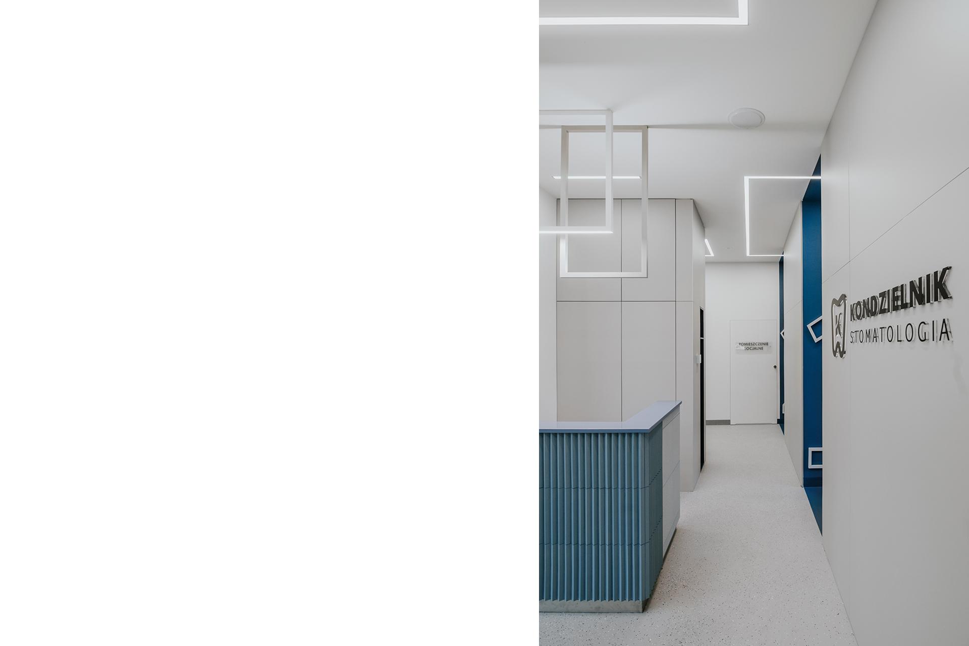 Gabinet Stomatologiczny - Joanna Kubieniec i Katarzyna Długosz - Biuro architektoniczne w Katowicach
